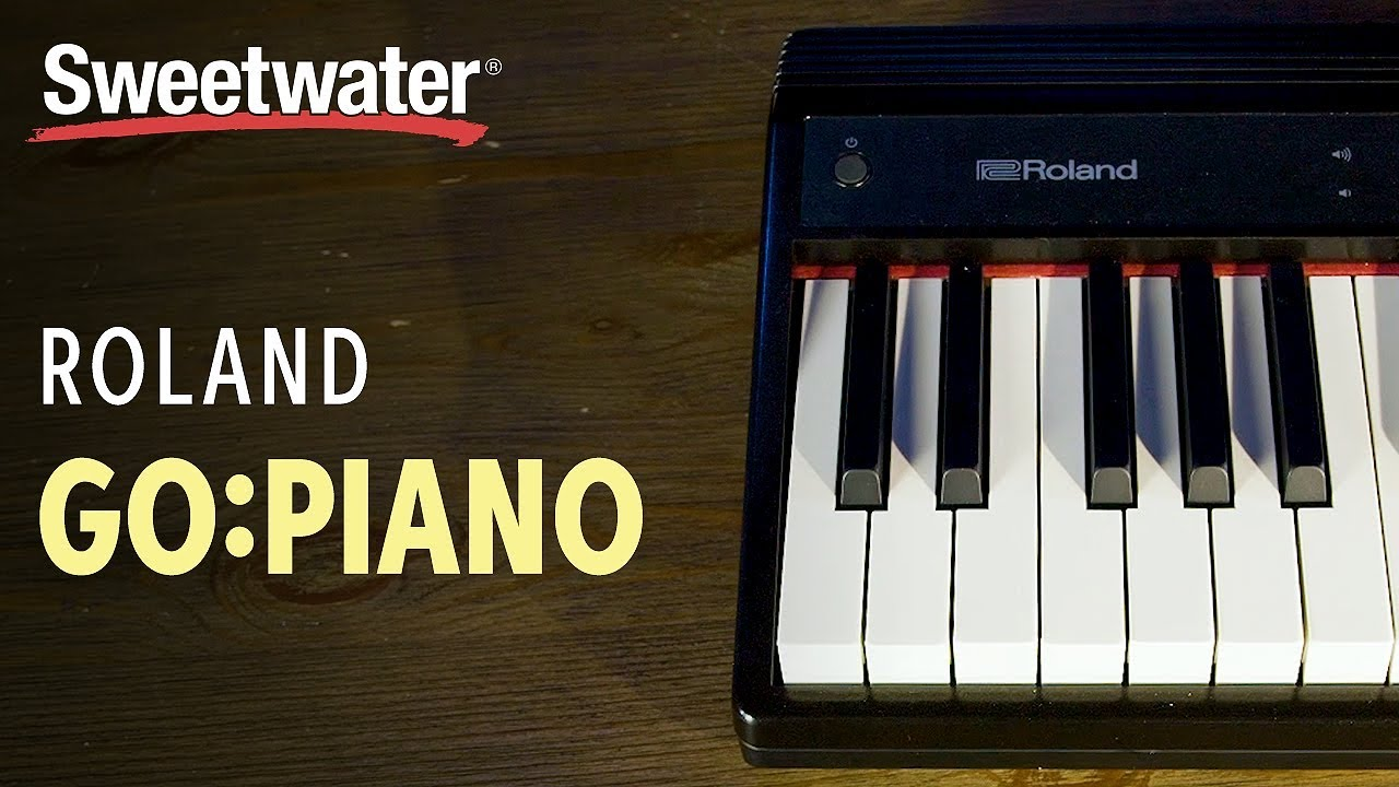 Roland Go Piano 61 Key Portable Piano Review Youtube