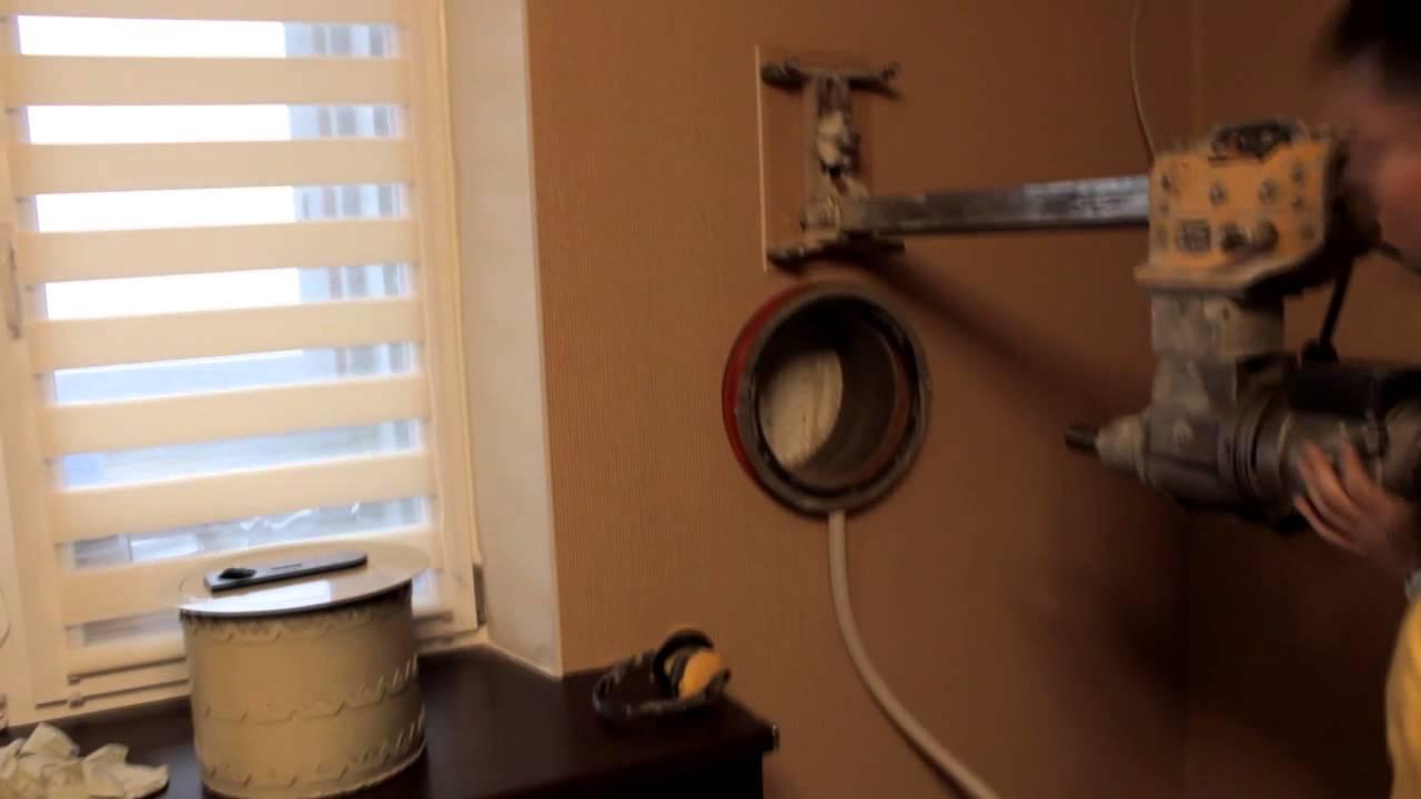 как правильно закрепить сейф дома
