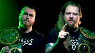 Gallus defend their kingdom against Pretty Deadly tomorrow on NXT UK
