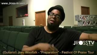 james ross guitarist joey woolfalk preparation dedication www jross tv com