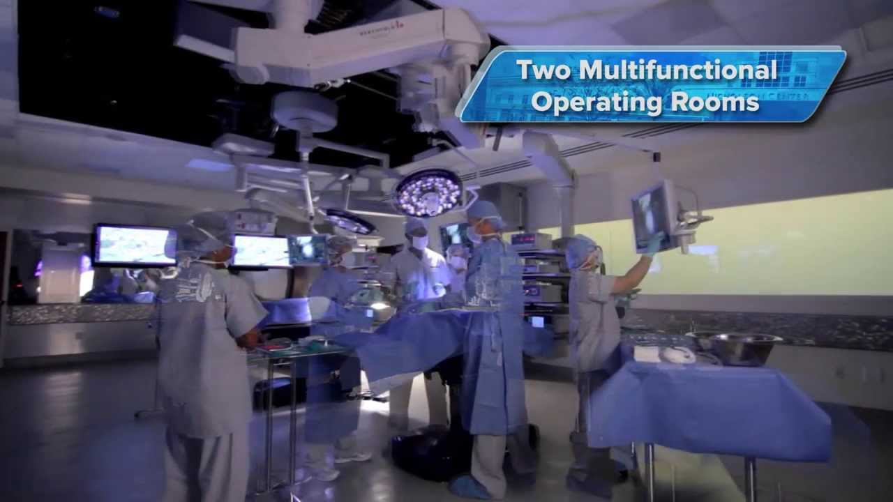 Hospital operating room - Two Multifunctional Operating Rooms Tour Florida Hospital Nicholson Center