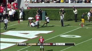 HIGHLIGHTS:  Mizzou downs Georgia 41-26