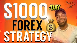 How To Make $1000 A DAY GBPUSD FOREX TRADING STRATEGY