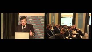 Barroso keynotes The Europe 2020 Summit at the Lisbon Council thumbnail