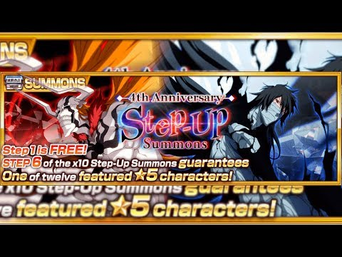 Bleach Brave Souls: Gameplay Final Getsugatenshou e Full-Hollowfied + Informações Step-Up round 1!!! - Omega Play