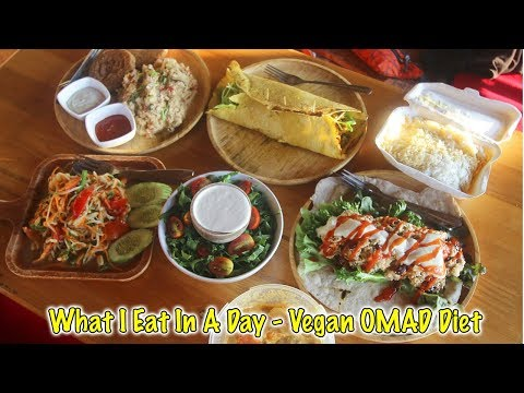 What I Eat In A Day + Vlog In Koh Phangan (Vegan One Meal A Day - Orion Healing Center)