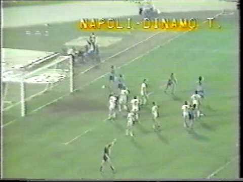 Napoli - Dinamo Tbilisi 1-0, coppa uefa 1982-83