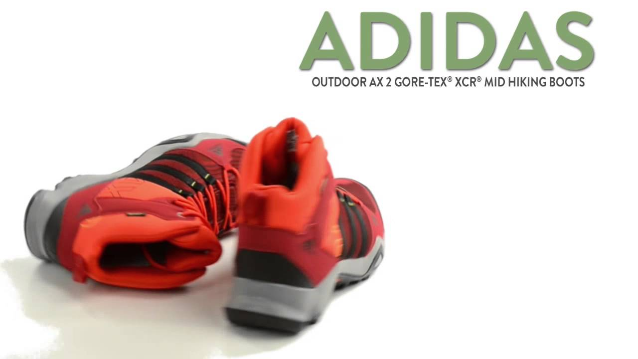 Adidas Outdoor AX 2 Gore - Tex® senderismo XCR® Mid botas de senderismo Tex® impermeable c9f531
