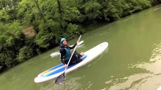 Stand Up Paddle Rivière du Guiers (Isère Savoie)