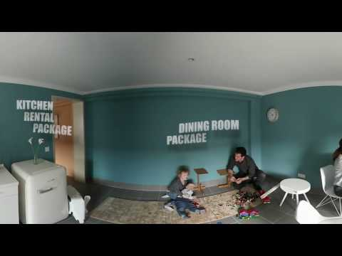 Furniture Leasing Corporation Showroom - Relocation to Austria The Apartment 360 Video