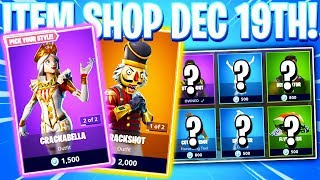 Fortnite Item Shop! CRACKSHOT & CRACKABELLA Daily & Featured Items! (December 19th 2018)