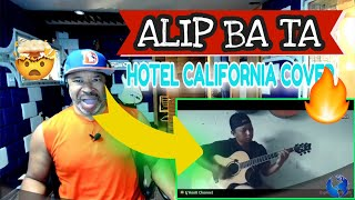 ALIP BA TA The eagles Hotel California (Fingerstyle) cover #alipers - Producer Reaction