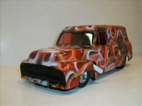 1:25 SCALE DRAG SLOT CARS AND MODEL BODIES BY DENNY #4