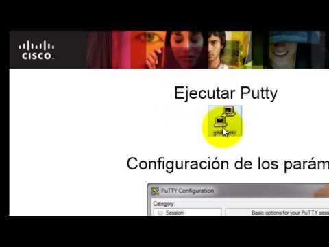 Como utilizar Putty puerto Serial