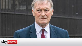 BREAKING: Terror suspect held over murder of Sir David Amess named