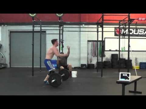 Joshua Boyle - CrossFit Open 16.5