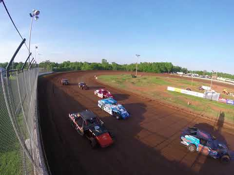 High above  at the Springfield Raceway 5/12/2018 .