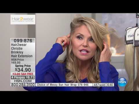 HSN | Christie Brinkley Hair Extensions & Skincare / Beauty Innovations . http://bit.ly/2LaUYjm
