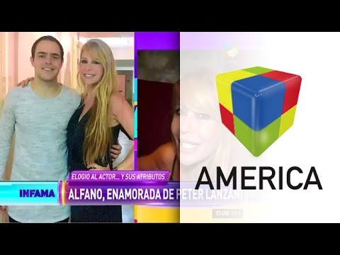 El elogio sin filtro de Graciela Alfano a Peter Lanzani