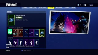 Fortnite loading screen glitch