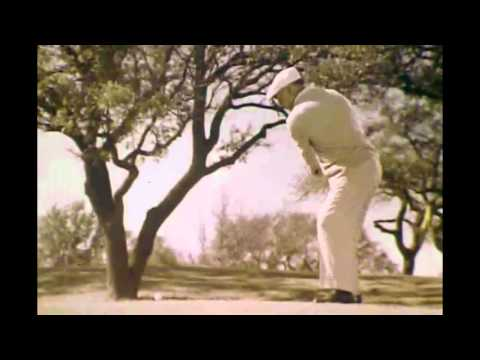 Collection of Ben Hogan TV Commercials and Golf Swings