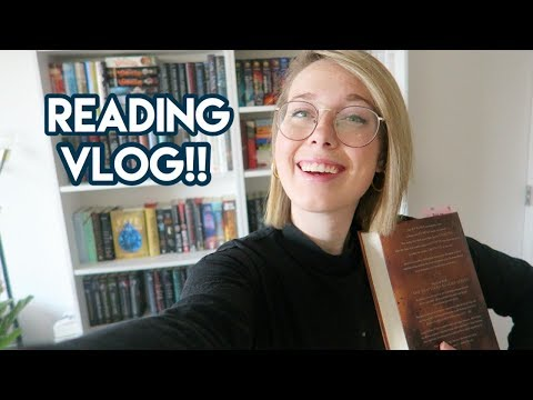 READING VLOG: Reading My Most Anticipated Book of the Year!! 600+ pages Read