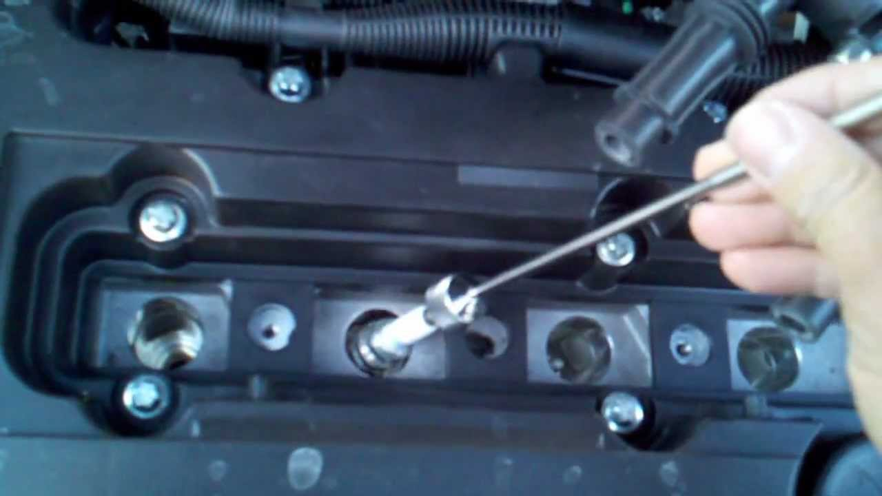 maxresdefault chevrolet cruze spark plug check youtube 2200 SFI Chevy Spark Plug at bayanpartner.co