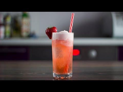 Клубничный Джин-Физ/Strawberry Gin Fizz