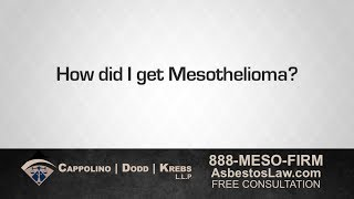 How Did I Get Mesothelioma? Our Asbestos Attorneys Can Find Out