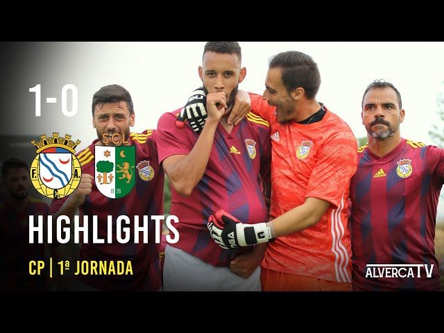 FC Alverca 1 - 0 Lourinhanense Highlights