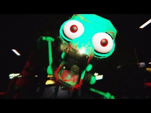 SPONGEBOB CREWS LAST NIGHT... - Five Nights At The Chum Bucket ENDING poster