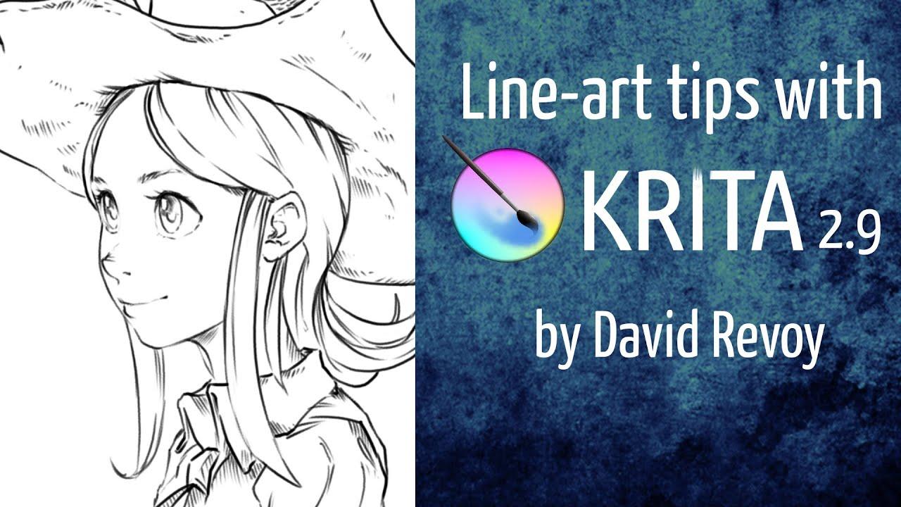 Line Art Krita : Line art tips with krita doovi