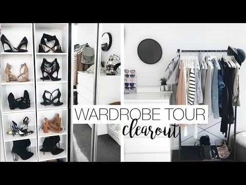 Wardrobe Tour & Organisation - Wardrobe Clear Out
