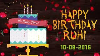 Happy Birthday Ruhi