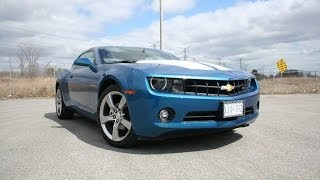 2010 Chevrolet Camaro Review - 2LT RS Aqua Blue Metallic