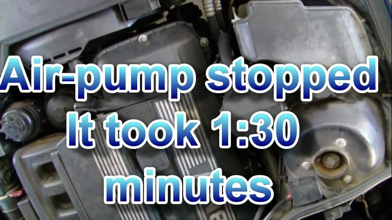 Secondary Air Pump Noise Bmw Normal Sound Cold Start