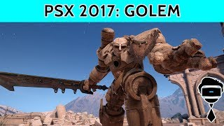Golem PSVR Preview | Everything We Learned From PSX 2017