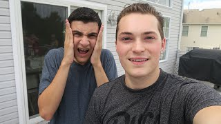 SURPRISING A VERY SPECIAL FAN! - SHOWING UP AT HIS HOUSE!
