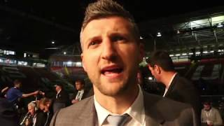 CARL FROCH IMMEDIATE REACTION TO ERROL SPENCE JR RIPPING IBF CROWN FROM BROOK & 'HAPPY' FOR GROVES
