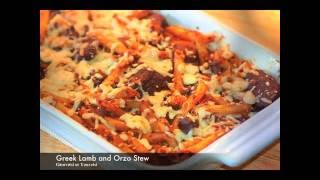 Greek Lamb and Orzo Stew  recipe /Giouvetsi or Youvetsi