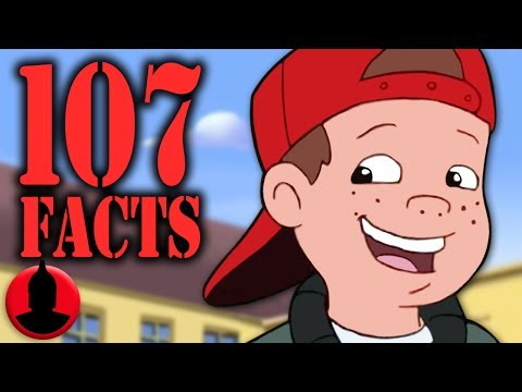 107 Recess Facts YOU Should Know! - Cartoon Facts! (107 Facts S7 E3)