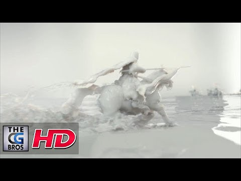 """CGI 3D Animated Spot :  """"Milk: A Force of Nature""""  by - Nozon"""