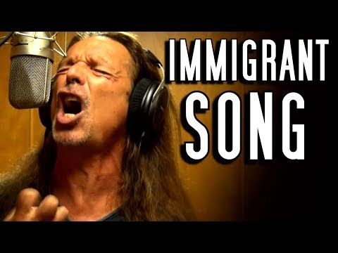 Led Zeppelin - Immigrant Song - cover - Ken Tamplin Vocal Academy