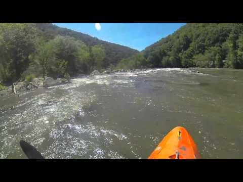 French Broad Kayaker's Ledge and Frank Bell's 5/24/2014 @ 2000 cfs
