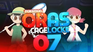 "Pokemon ORAS Cagelocke w/ PokeaimMD and aDrive Episode 07 ""Moving through the city"""