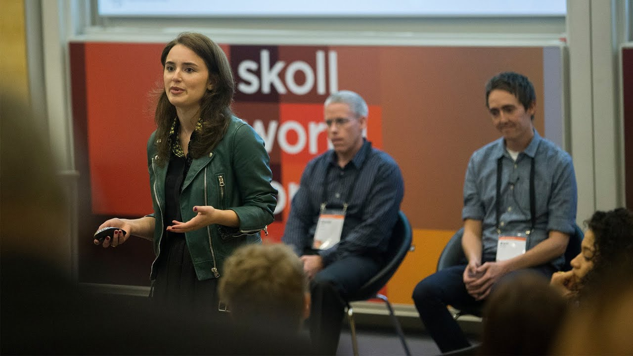 Bettina Warburg: The Future of Work | Skoll World Forum 2015