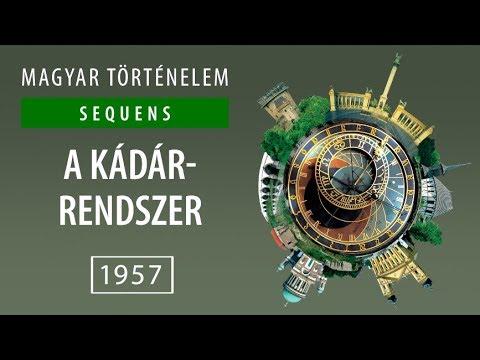 Magyar történelem | 1957 | A Kádár rendszer videó letöltés