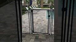 Pool Fence at Disney area Vacation Rental, Davenport FL at ReUnion
