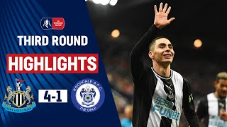 Magpies Cruise Into The Fourth Round | Newcastle United 4-1 Rochdale | Emirates Fa Cup 19/20