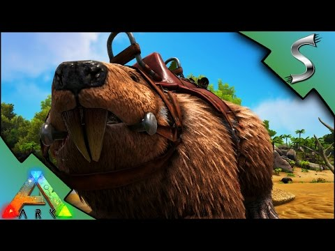 BEAVER TAMING! KAPRO PROBLEMS! - Ark: Survival Evolved [S3E36]